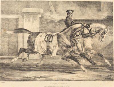 Théodore Géricault, 'Horses Exercising', 1821