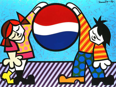 Romero Britto, 'New Generation', 1994