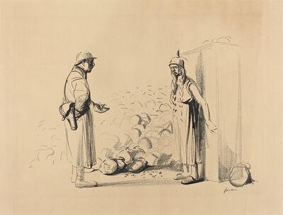 """Jean-Louis Forain, 'Hiding the """"louis""""', ca. 1914/1919"""
