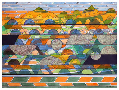 Carlos Rodriguez Cardenas, 'Scenarios (Landscapes)', 2020