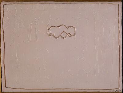 Joan Hernández Pijuan, 'Núvol sobre rosa', 1992