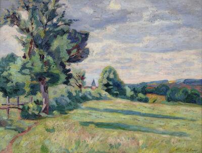 Armand Guillaumin, 'Paturages des Granges, Crozant', 1914