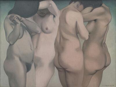 """Félix Vallotton, '""""Quatre torses""""', 1918"""