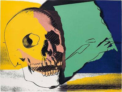 Andy Warhol, 'Skulls  (FS II.158) (Green)', 1976