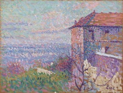 Maximilien Luce, 'La maison de Suzanne Valladon', 1890-1895