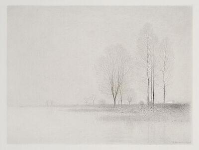 Gunnar Norrman, 'Vid sjon (By the Lake)', 1969