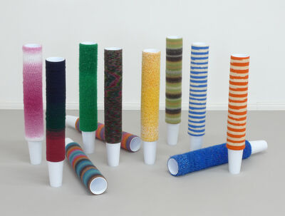 Haegue Yang, 'Cup Cosies, For Parkett 89', 2011