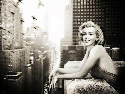 Axel Crieger, 'Marilyn Monroe, Birdie, Manhattan, New York', 2016