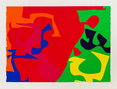 Patrick Heron, 'A Group of Four Works from January 1973 including 7, 5, 16, and 17'