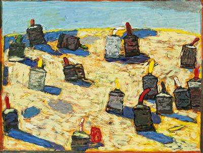 Gaylen Hansen, 'Paint Tubes in a Landscape'
