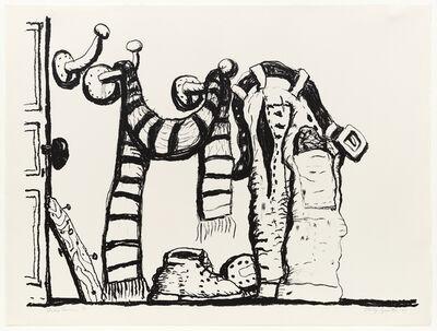Philip Guston, 'Studio Corner', 1980