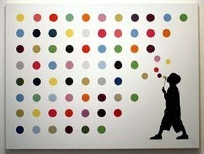L.E.T., 'Hirst Bubbles', 2012