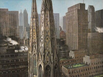 Richard Haas, 'St. Patrick's Rockefeller Center.', 2003