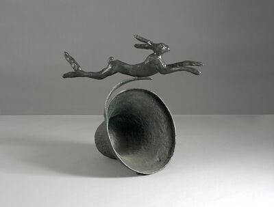 Barry Flanagan, 'Hare on Curly Bell', 1980