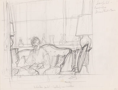 John Koch, 'Study of Dora, Setauket'