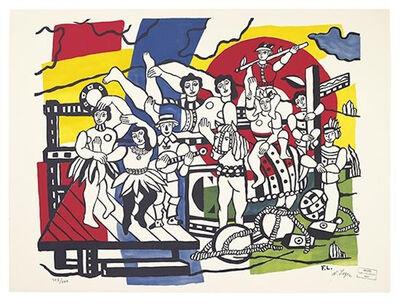 Fernand Léger, 'La Grande Parade', 1955