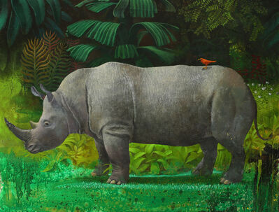 Sylvain Lefebvre, 'The Peaceful Rhinoceros', 2021