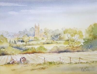 Ken Burton, 'Greatford, Somerset', 1988