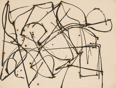 Jack Tworkov, 'Untitled (Gesture) (JT614) ', ca. 1950