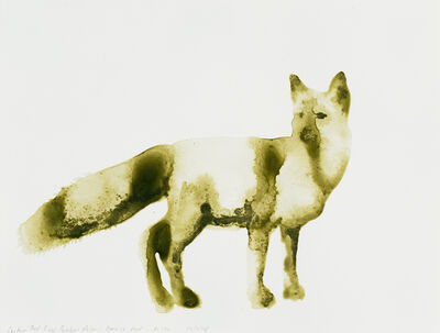 Alexis Rockman, 'Eastern Red Fox (Vulpes vulpes)', 2014