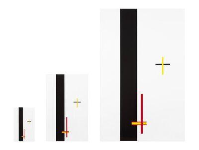 László Moholy-Nagy, ''Construction in Enamel 1, 2 and 3'', 2012