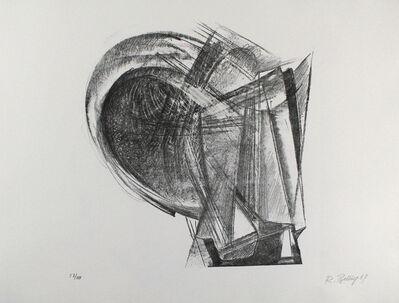 Rudolf Belling, 'Entwurf für Metallplatten und Draht II', 1967