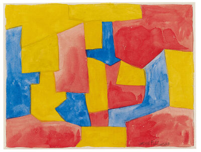 Serge Poliakoff, 'Composition abstraite', ca. 1963