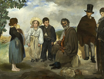Édouard Manet, 'The Old Musician', 1862