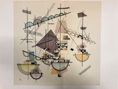 Wassily Kandinsky, 'Composition IV', 1953
