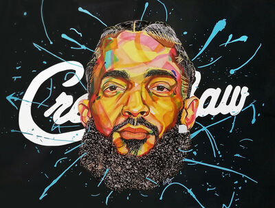 Domonique Brown, 'Nipsey', 2019