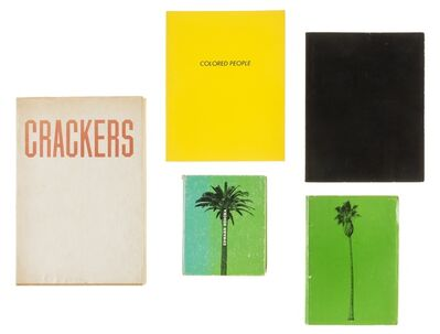 Ed Ruscha, 'Colored People; A Few Palm Trees', 1969 -1975