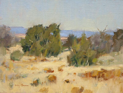 Irby Graves Brown, 'Junipers at Mid Day'