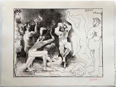 Pablo Picasso, 'La Danse des Faunes ', 1957