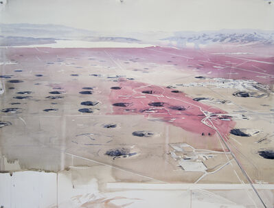 Eric LoPresti, 'Yucca Flat with Blood Red Brushstrokes', 2016