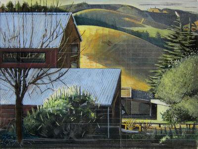 Alexander Rohrig, 'Morning Light (Studio and Hills)'
