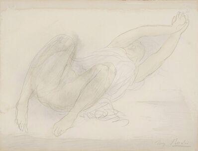 Auguste Rodin, 'Femme étendue s'étirant', 1900-1902