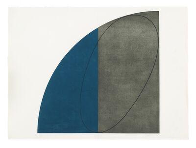 Robert Mangold, 'Curved Plane/ Figure I', 1994