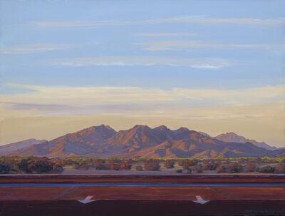 Mary-Austin Klein, 'Woolsey Peak with Arrows, Gila Bend', 2015