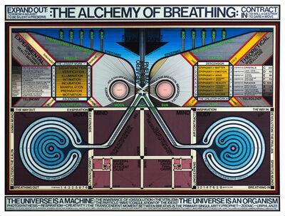Paul Laffoley, 'The Alchemy Of Breathing', 1992