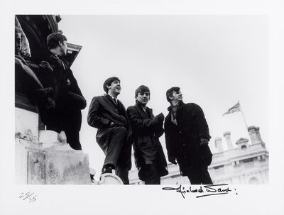 Michael Ward, 'The Beatles , Victoria Monument, Liverpool, February 19th, 1963', 1963-2009