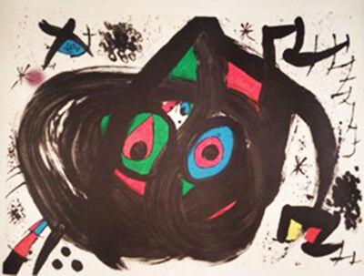 Joan Miró, 'Hommentage a Joan Prats', 1971
