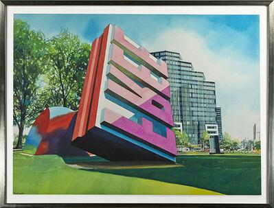 Bruce McCombs, 'Oldenburg Sculpture, Cleveland, Ohio', 1994