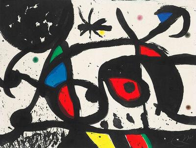 Joan Miró, 'Charivari (Racket)', 1976