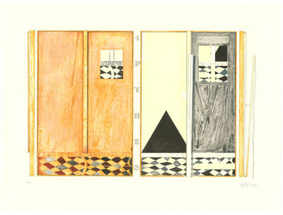 Jasper Johns, 'Pyre 1 and 2', 2005