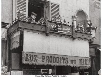 André Kertész, 'Ripples, May 11, Rue Delambre, Paris, and Sixth Avenue, New York City, April 28', 1913; 1928; 1959