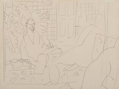 Henri Matisse, 'Le peintre et son modèle', 1937