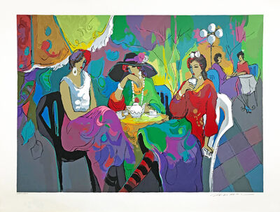 Isaac Maimon, 'PARK GARDEN CAFE', 1994