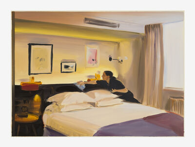 Caroline Walker, 'Dusting, Room 5', 2019