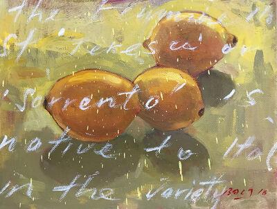 Baet Yeok Kuan 麦毓权, 'Study of 3 Lemons I', 2016
