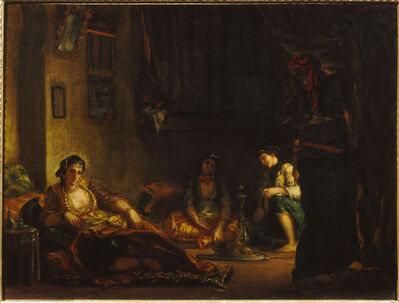 Eugène Delacroix, 'Women of Algiers in their Apartment', 1847-1849